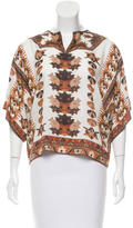 Isabel Marant Oversize Printed Top w/ Tags
