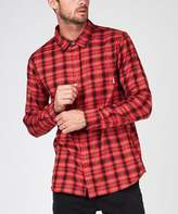 Element Bunker Long Sleeve Shirt Sangria Red