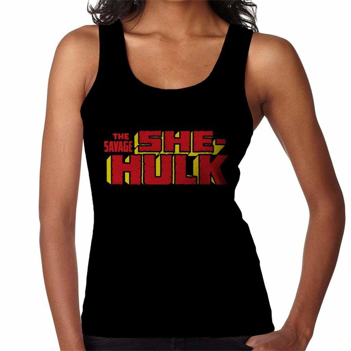 Thumbnail for your product : Marvel The Savage She Hulk Women's Vest Black