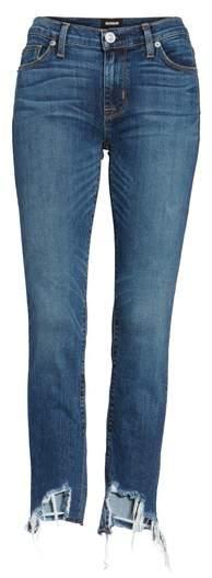 Hudson Tally Unfamed Hem Skinny Jeans
