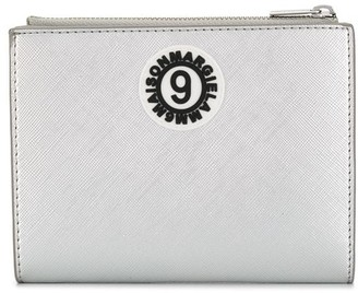 MM6 MAISON MARGIELA logo patch wallet