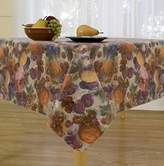 Fruitasia Flannel Backed Vinyl Tablecloth Indoor Outdoor, 60-Inch by 120-Inch Oblong (Rectangle)
