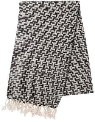 Slate & Salt Diamond Black Turkish Towel