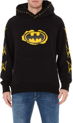 Burton Mjb - Marc Jacques Double Hoodie X Batman Comic