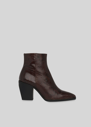 Grove Snake Western Ankle Boot