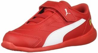 Puma Kids' Scuderia Ferrari Kart Cat IIIHook and Loop Sneaker