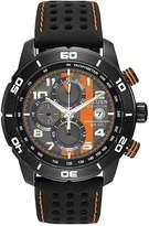 Citizen Men's Mens Primo Chronograph Watch in Black and Orange