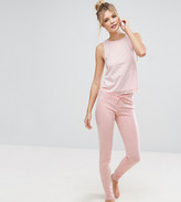 Asos Tall Lace Trim Singlet & Legging Pyjama Set