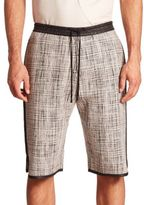 Public School Tryan Elongated Shorts