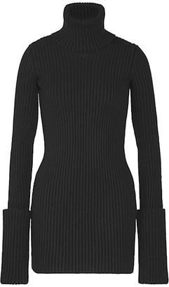 Bottega Veneta Ribbed Knit Turtleneck Sweater