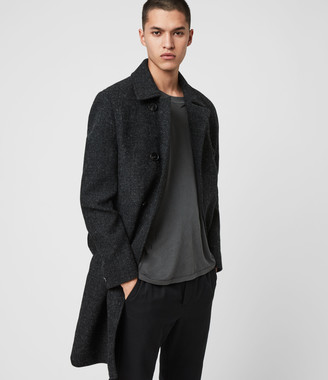 AllSaints Shaw Wool Coat