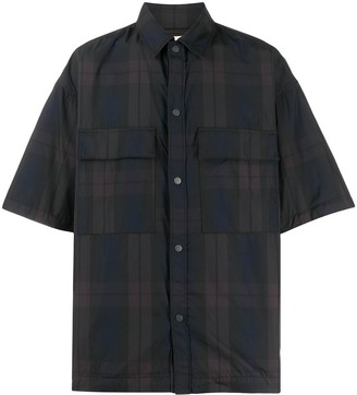 Fear Of God Check Pattern Short Sleeve Shirt