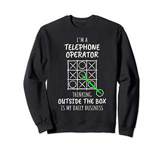 Funny Telephone Operator Sweatshirt