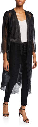 Loyd/Ford Long-Sleeve Lace Duster