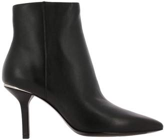 MICHAEL Michael Kors Heeled Booties Katerina Leather Ankle Boots