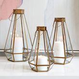 west elm Faceted Lanterns