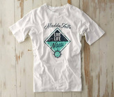 Madda Fella Short Sleeve Excursions - Live Life Print Sail White