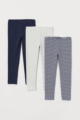 H&M 3-pack Jersey Leggings