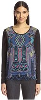 Custo Barcelona Women's 3390000 Print Front Top