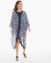 Chico's Starfish Lace Swim Cover-up Poncho