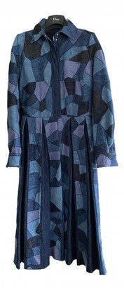 Christian Dior Blue Denim - Jeans Dresses