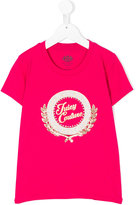 Juicy Couture metallic logo print T-shirt