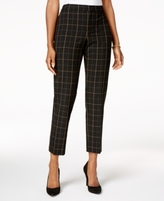 Charter Club Petite Plaid Pants, Created for Macy's