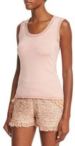 M Missoni Scoop-Neck Star-Stitch Tank