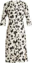 Altuzarra Pia floral-print crepe-cady shirtdress