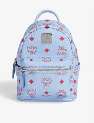 MCM Stark mini leather backpack