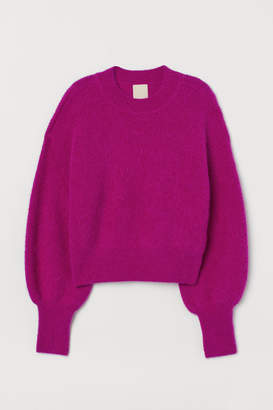 H&M Fine-knit Alpaca-blend Sweater - Pink