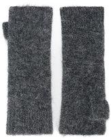 Isabel Marant Cruz fingerless gloves - women - Acrylic/Polyamide/Spandex/Elastane/Alpaca - One Size