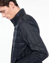 Ultra fine quilted padded jacket