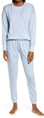 Emerson Road Daisy Print Jogger Pajamas