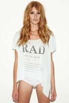Rebel Yell Rad Raw Tee in Vintage Mint