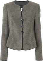 Armani Collezioni tri-button fitted jacket
