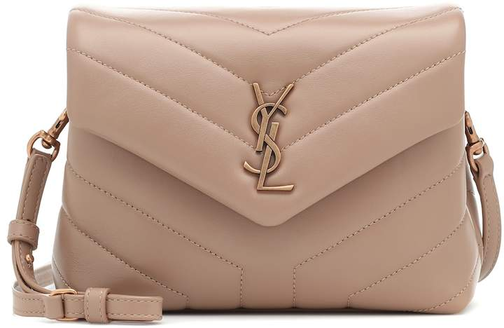 Toy Loulou Leather Shoulder Bag by Saint Laurent