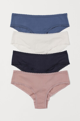 H&M 4-pack Cotton Hipster Briefs