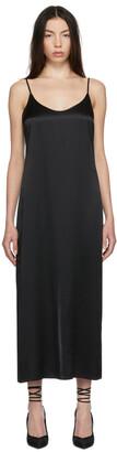La Perla Black Silk Long Slip Dress