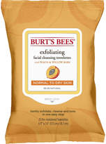 Burt's Bees Facial Cleansing Towelettes Peach and Willow Bark
