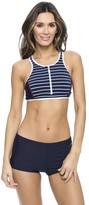 Nautica Classic Stripe Sport Bra