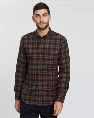 Staple Superior Arizona Check Flannel Shirt
