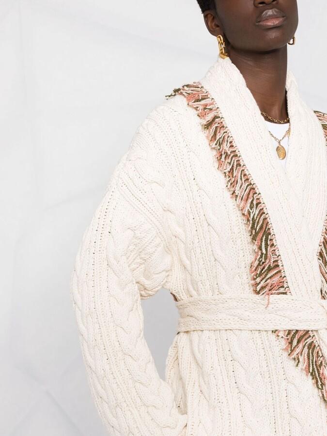 Thumbnail for your product : Alanui Enchanted Canyon cardi-coat