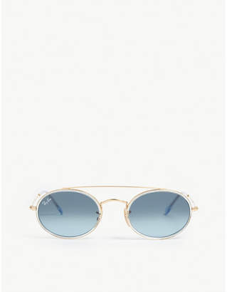 Ray-Ban RB3847 oval-frame sunglasses