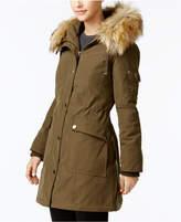 1 Madison Expedition Customizable Faux-Fur-Trim Anorak Coat