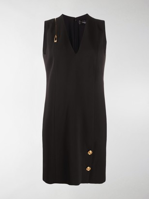 Versace Paper Clip shift dress