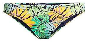 Vilebrequin Women's Frise Tropical Leaf-Print Bikini Bottom