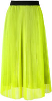 MSGM mid-length pleated skirt - women - Polyester - 38
