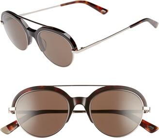 Web 51mm Aviator Sunglasses