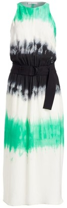 A.L.C. Tallulah Tie-Dye Silk Maxi Dress
